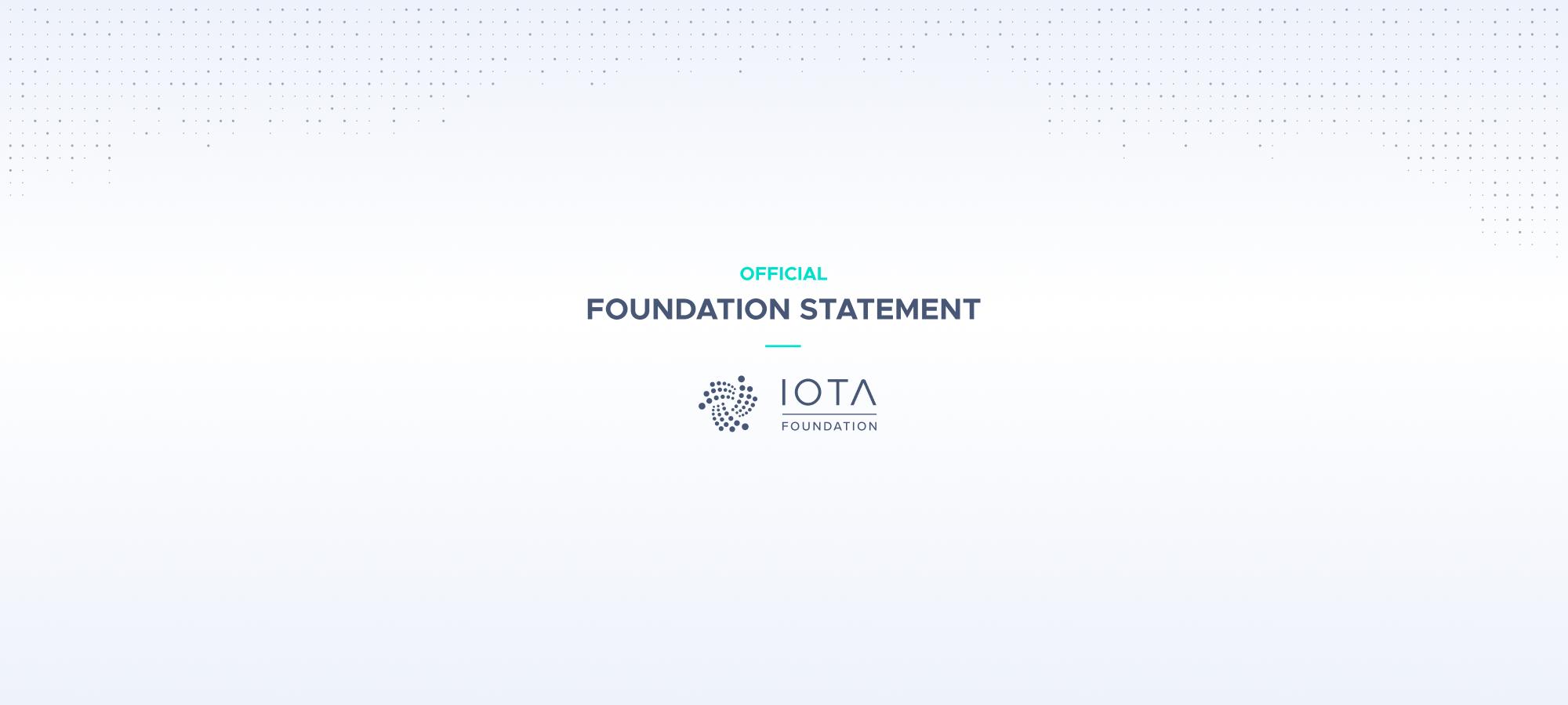 IOTA Foundation parts ways with David Sønstebø