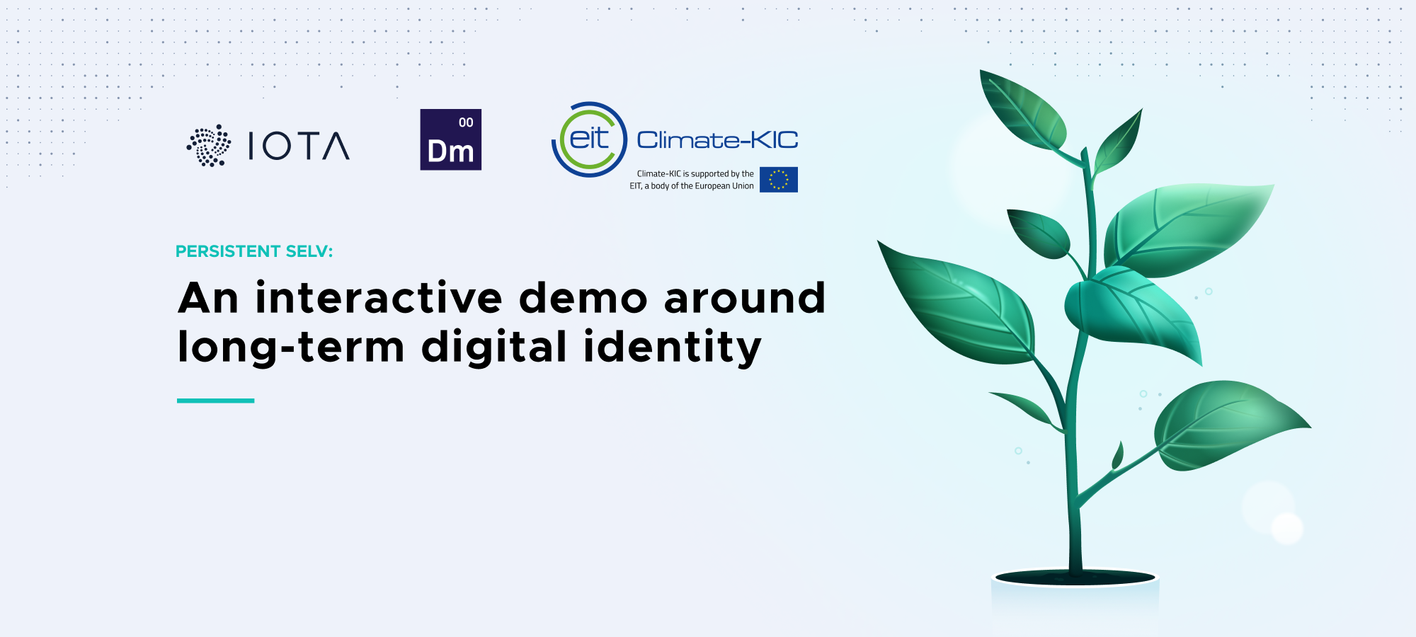 Persistent Selv: An interactive demo around long-term digital identity
