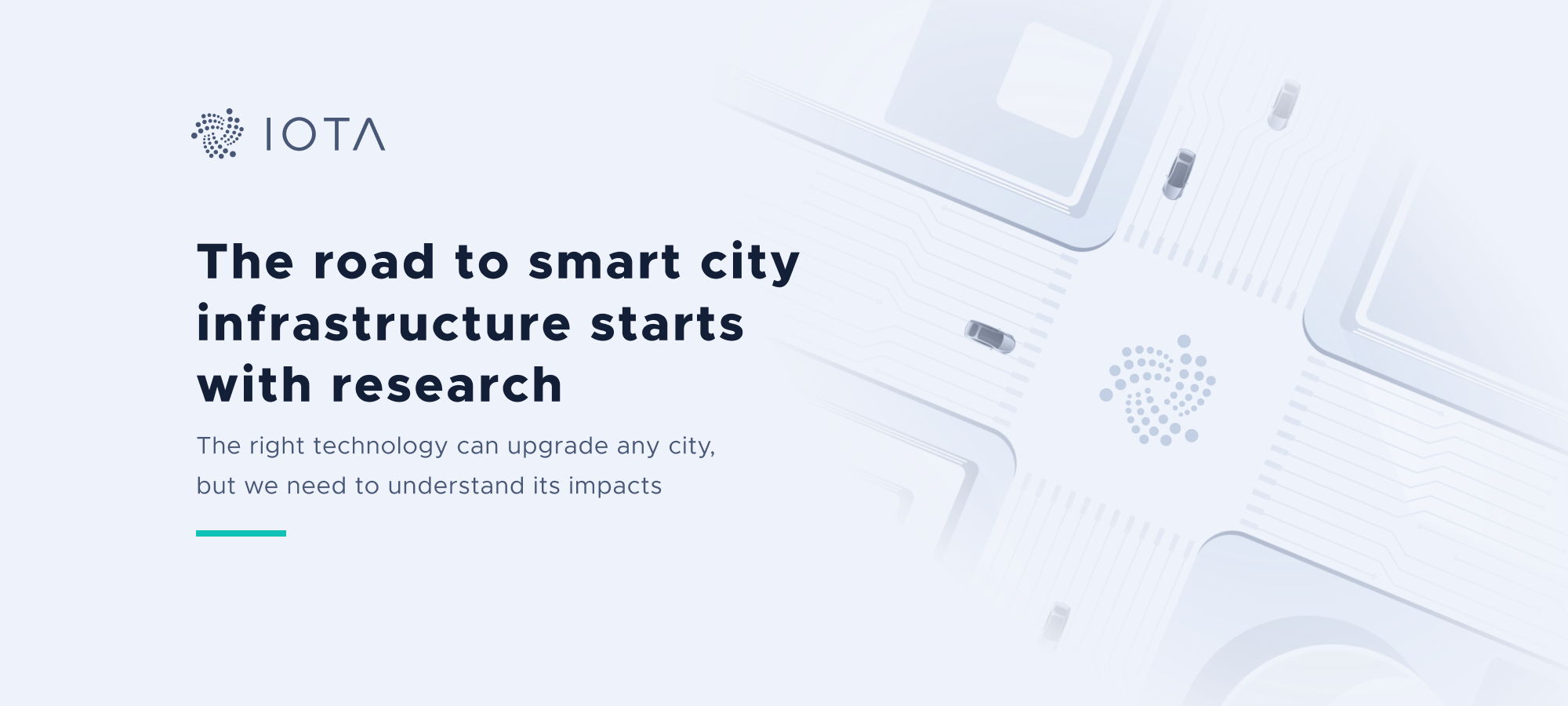 The road to smart city infrastructure starts with research
