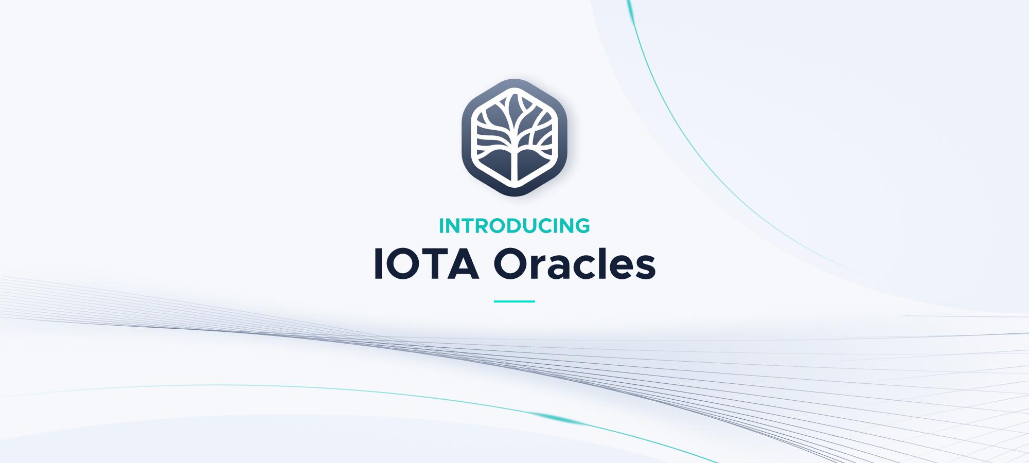 Introducing IOTA Oracles