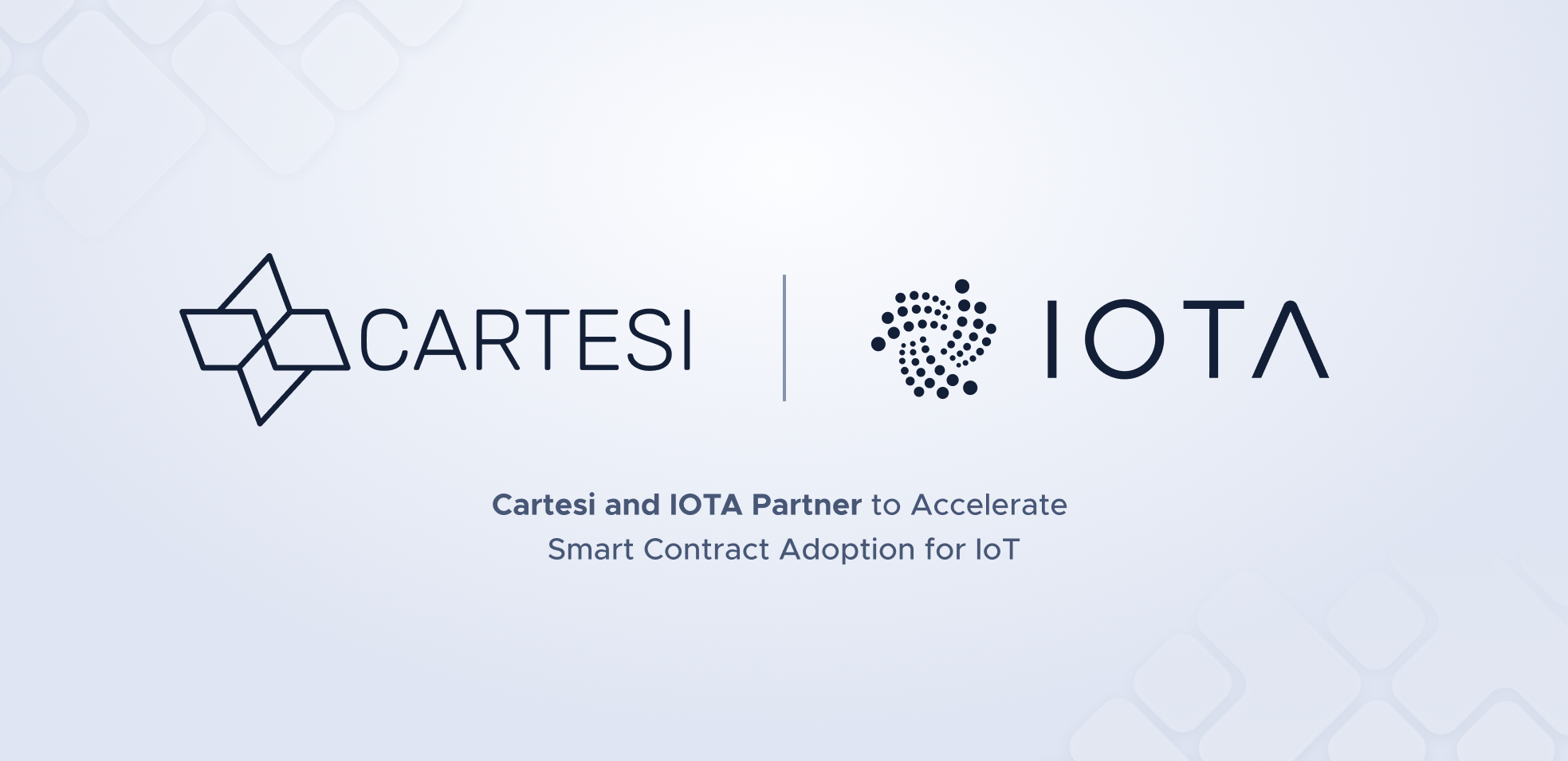 Cartesi and the IOTA Foundation Partner to Accelerate Smart Contract Adoption for IoT