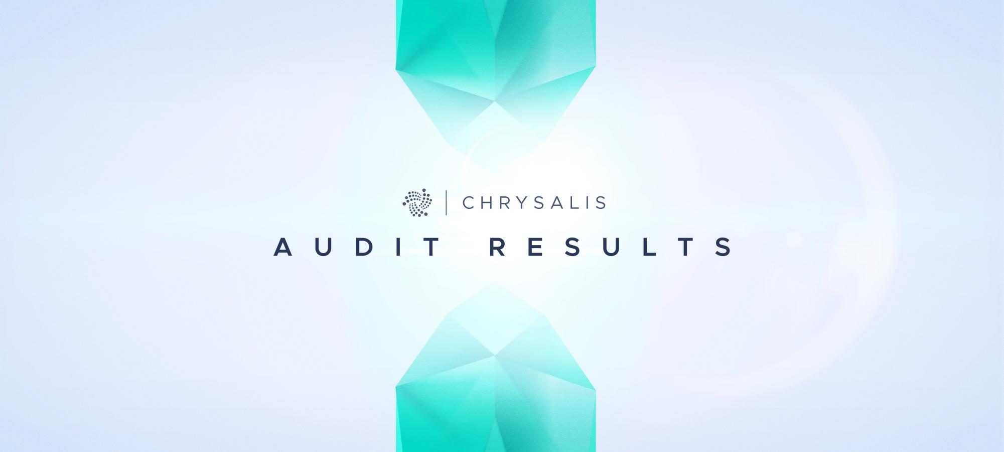 Chrysalis - Audit Results