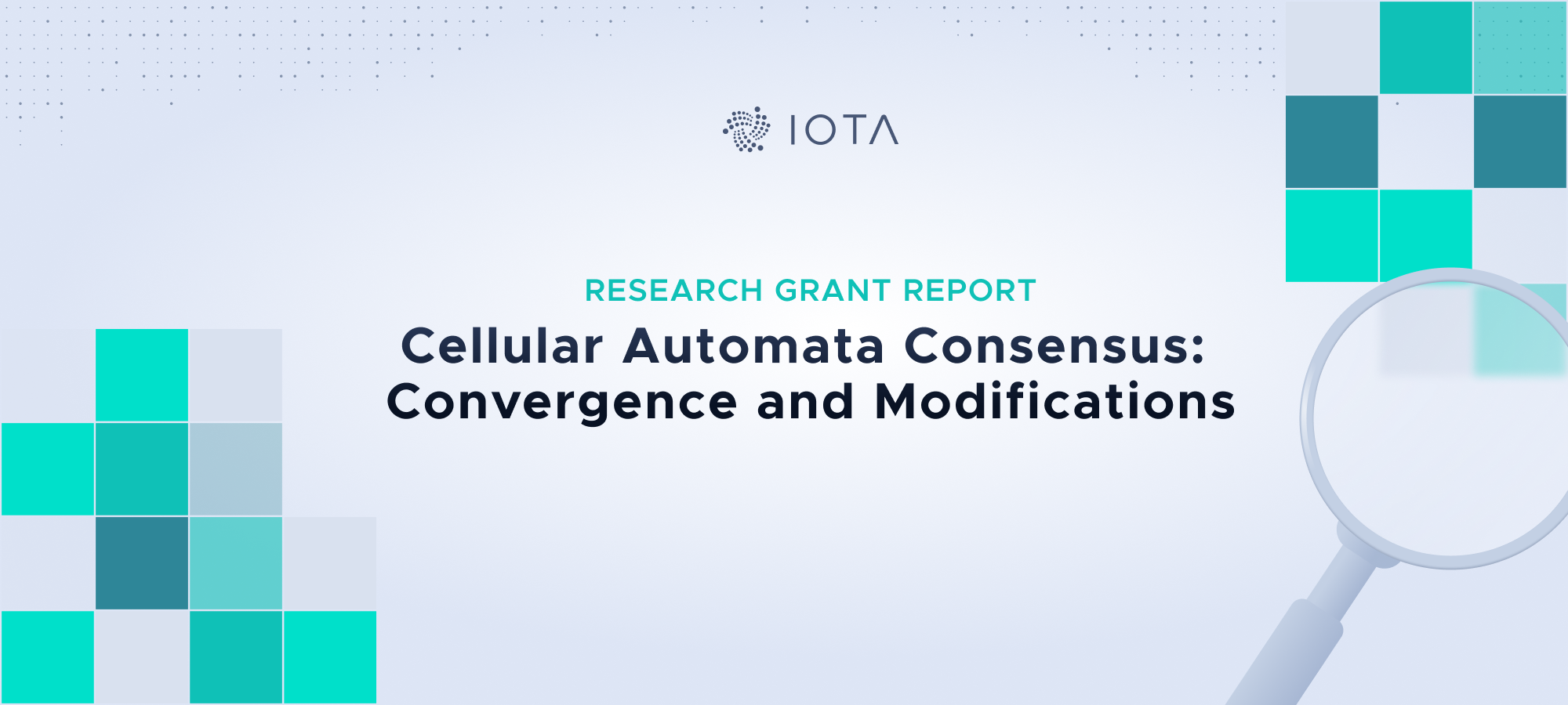 Research Grant Report — Cellular Automata Consensus: Convergence and Modifications