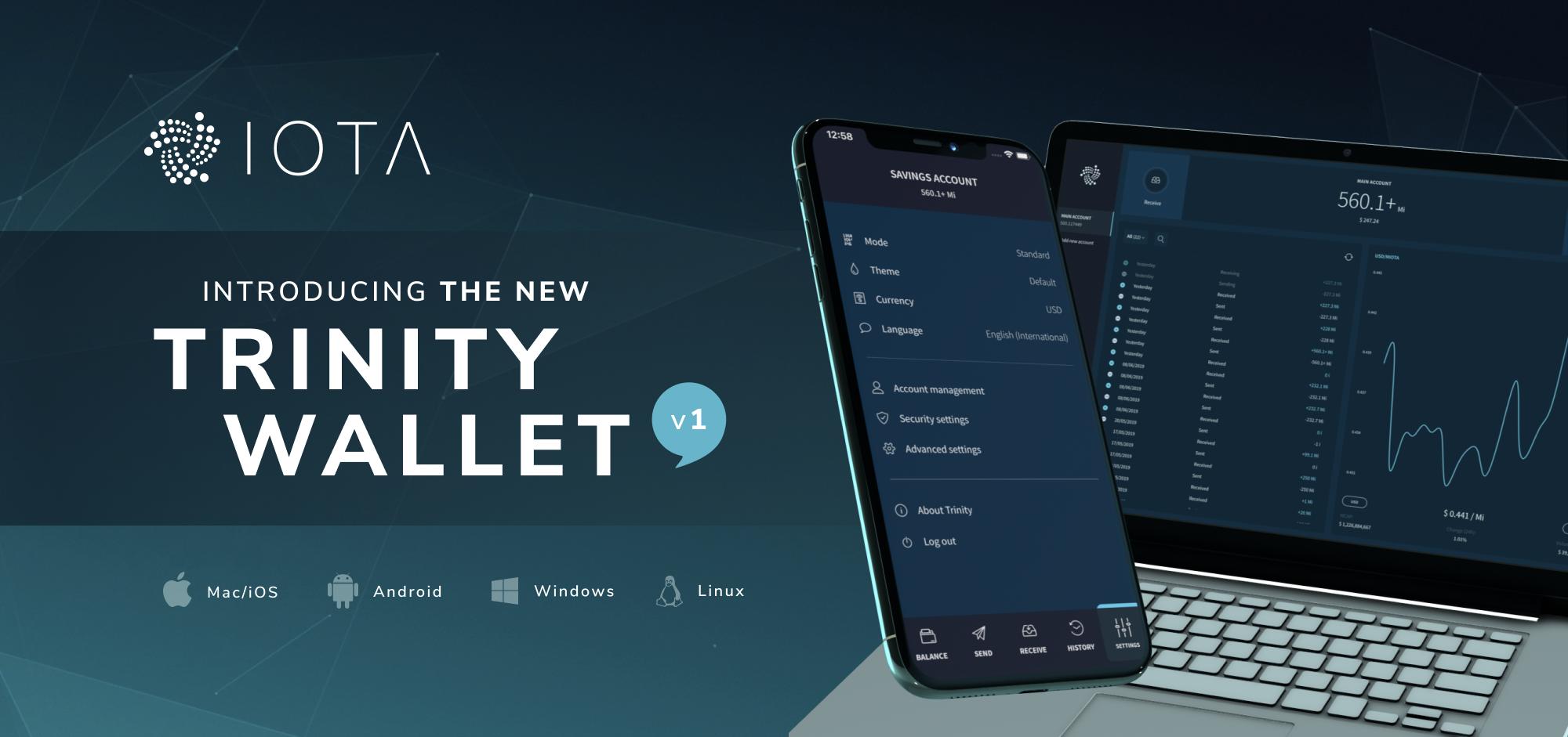 Iota Foundation Releases The Trinity Wallet